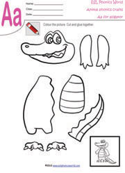 math worksheet : animal craft worksheets animal paper craft paper crafts for  : Esl Kindergarten Worksheets