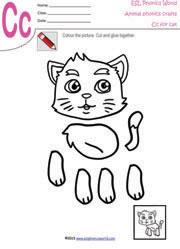 ... Worksheets, Animal Paper Craft, Paper Crafts for Kindergarten Kids