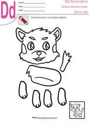 ESL Phonics Kids Crafts