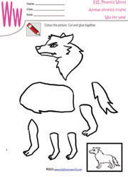 wolf worksheet kindergarten wolf best free printable worksheets. Black Bedroom Furniture Sets. Home Design Ideas
