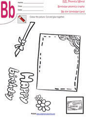 8 birthday craft for kids birthday crafts for kindergarten. Black Bedroom Furniture Sets. Home Design Ideas