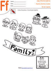 math worksheet : family craft worksheets family paper craft paper crafts for  : Family Worksheets Kindergarten