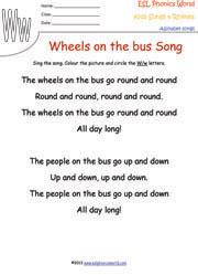 ESL Phonics World Alphabet Songs and Rhymes