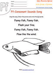 Rhyme fish popflyboys for Fish songs for preschoolers