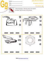 printable anagram worksheets word scramble kindergarten phonics. Black Bedroom Furniture Sets. Home Design Ideas