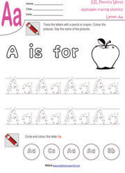 math worksheet : free phonics worksheets for kindergarten  primary school kids : Tracing Worksheets For Kindergarten
