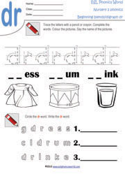 Free Phonics Worksheets | Kindergarten Phonics Printables