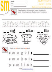 SP: Consonant Blend - Enchanted Learning Software