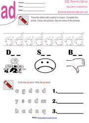 ending blends worksheets kindergarten short vowels worksheets and shorts on pinterestprintable. Black Bedroom Furniture Sets. Home Design Ideas