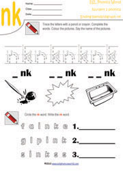 Ending Blends Worksheets and Activities | Worksheets, Printing and ...