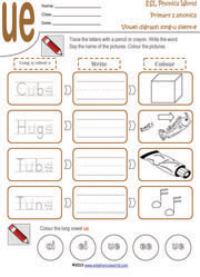 Long Vowel With Silent E Worksheet Worksheets for all | Download ...